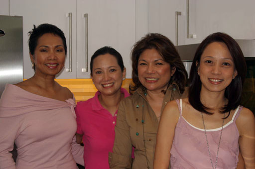 Minnie Jentes, Bettina Osmena, Beth Romualdez & Kara Alikpala